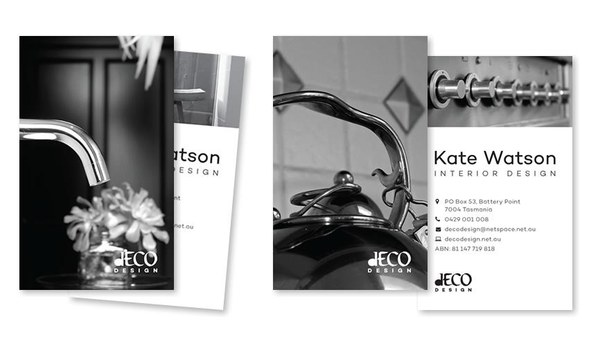 Deco Design Business Cards - Print