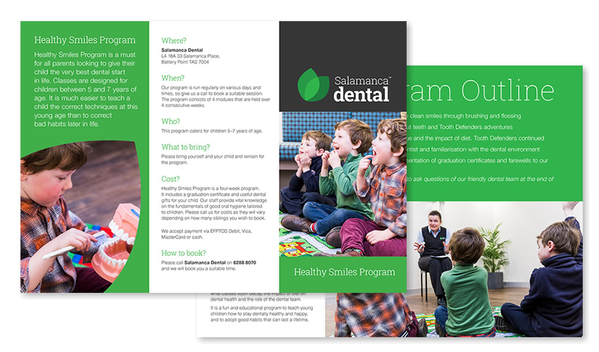 Salamanca Dental Brochure - Print