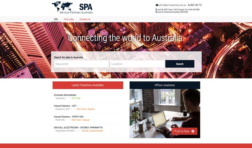 Service Partners Australia